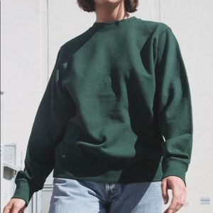 Brandy Melville green sweatshirt